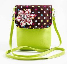 Turqouise with flower crossbody bag,crossbody purse,cross body bag ...
