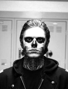 From American Horror Story: Murder House. † Evan Peters † #ahs #bnw