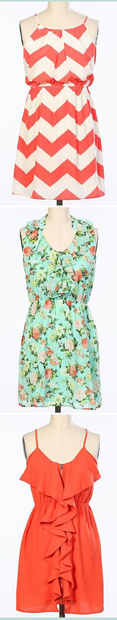 Beautiful Spring and Summer Dresses that would look cute with tights or leggings
