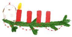 hallo heute: Advent, Advent, ein Lichtlein brennt! Erst eins…