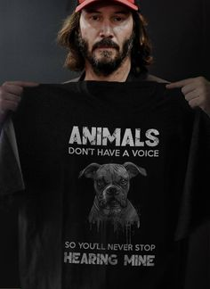 I dont care if u don't like it but I'm going to be the voice for the animals who don't have one ❤️🦊🐻🐼🐨🐽🐮🦁🐵🙊🐣🐧🦆🦉🐗🐺🦋🦗🐜 Keanu Reeves Zitate, Animals And Pets, Cute Animals, Keanu Reeves Quotes, Keanu Charles Reeves, Animal Rights, John Wick, I Love Dogs, Dogs And Puppies