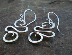 Sterling Silver Swirls