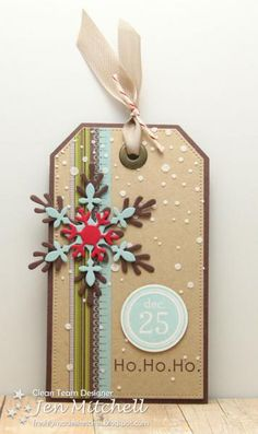 Ho Ho Ho Tag by jenmitchell - Cards and Paper Crafts at Splitcoaststampers