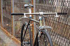 *CINELLI* mash work track complete bike - BLUE LUG