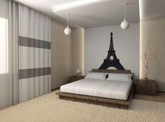 paris themed bedrooms for teens | Cool Paris-Themed Room Ideas and Items | DigsDigs