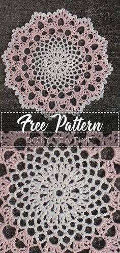 Hottest Free of Charge Crochet Doilies Popular Doily Tea Time – Pattern Free – Easy Crochet Crochet Thread Patterns, Free Crochet Doily Patterns, Crochet Patterns For Beginners, Knitting Patterns, Crochet Dreamcatcher Pattern Free, Free Pattern, Crochet Ideas, Crochet Dollies, Crochet Flowers