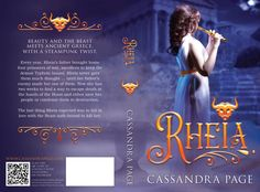 Rheia paperback cover Ancient Greece, Beauty And The Beast, Book Covers, Thoughts, Cover Books, Book Illustrations, Ideas