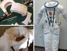 Wanna be an astronaut? | Jacqueline Wagner Astronaut Costume, Space Costumes, Karneval, Outer Space, School Projects, Masquerade, Cosmos, Hana, Short Film