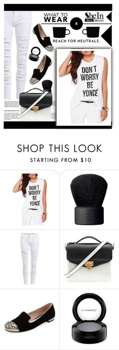 """Black 'n' White (SheIn #1)"" by shambala-379 ❤ liked on Polyvore featuring NARS Cosmetics, Miu Miu, MAC Cosmetics, iittala, women's clothing, women's fashion, women, female, woman and misses"