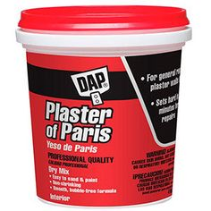 This DAP Vinyl Spackling White Ready-to-Use may be used to fill holes and cracks in surfaces such as drywall, plaster, wood, brick and stone. Homemade Rat Poison, Home Depot, Concrete Repair Products, Mouse Poison, Stucco Paint, Mice Repellent, Insecticide, Plaster Of Paris, Plaster Walls