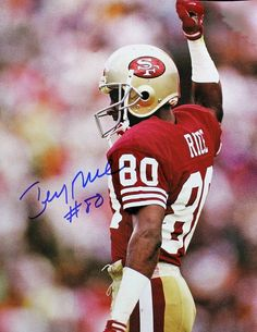 On September 5th 1994, 49ers wide receiver Jerry Rice scored his 127th career touchdown, breaking Jim Brown's record of 126. The 38-yard TD strike from Steve Young came in the fourth quarter of the Niners' 44-14 win over the Raiders on Monday Night Football