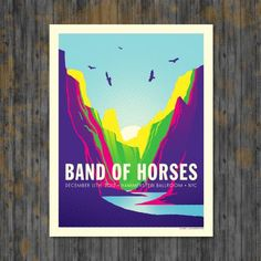 Band of Horses – Hammerstein Ballroom NYC from Indie Muso Gig Prints - R199 (Save 0%)
