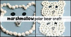 Winter is the perfect time to try fun winter-themed crafts and polar bear crafts! This fun polar bear craft is perfect for preschoolers and kindergartners Kindergarten Reading Activities, Preschool Kindergarten, Preschool Activities, Easy Preschool Crafts, Crafts For Kids, Bear Crafts, Hands On Activities, Winter Theme, Polar Bear