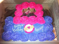 Custom Doc McStuffins Cupcake Cake made by LaChianti CupcakeDiva Bromell
