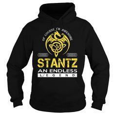 STANTZ An Endless Legend (Dragon) - Last Name, Surname T-Shirt