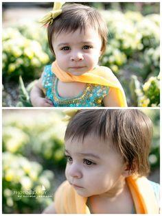 Ameera's 1 year photo shoot!