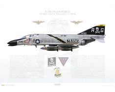 ... Phantom II > F-4B Phantom II VF-84 Jolly Rogers, AG206 / 151492 / 1965