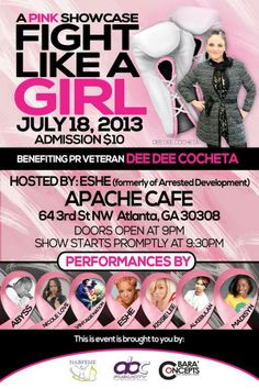 #fundraiser #ATL #breastcancer #deedeehealed @apachecafe #music #industry #business #life #cancer #healed #donate #give