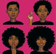 From the big chop to the long natural tresses! i think i want to cut my hair. From the big chop to the long natural tresses! i think i want to cut my hair. Natural Hair Journey, Natural Hair Art, How To Grow Natural Hair, Natural Hair Growth, Going Natural, Natural Curls, Natural Big Chop, Natural Makeup, Natural Beauty