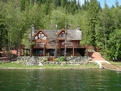 Shuswap Lake  - Buildings What Dreams May Come, Vacation Places, Deco, Dream Homes, Beautiful Homes, Buildings, Places To Visit, Real Estate, Houses