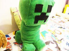 Minecraft Creeper Plush / Stuffed Toy 185 Tall by MythFashion, $29.99