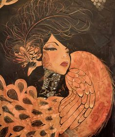 Jenn Porreca - from Love in Absentia collection. Love these works