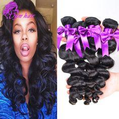 10A Grade Malaysian Loose Wave 4pcs lot, Cheap Human Hair 100g Bundles, 8- 28 inch Unprocessed Virgin Malaysian Hair Extension http://jadeshair.com/10a-grade-malaysian-loose-wave-4pcs-lot-cheap-human-hair-100g-bundles-8-28-inch-unprocessed-virgin-malaysian-hair-extension/ #HairWeaving