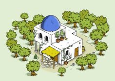 #Olive grove from our game #travians at http://www.travians.com