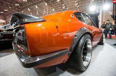 Rocky auto s30 fairlady carbon fiber rear bumper z