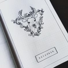 """51 Likes, 2 Comments - Jenna Hazzard (@madden_ing) on Instagram: """"Working on something new for the year. I am starting a #bulletjournal for the last month of this…"""" #Startingascrapbook"""