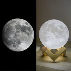 moon light for a better sleep Table Lamps For Bedroom, Bedroom Lighting, Light Bedroom, House Lighting, Moon Light Lamp, Mothers Day Crafts For Kids, Light Touch, Night Lamps, Led Night Light
