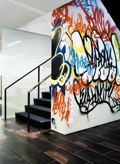 graffiti - imagine having someone do an awesome graffiti piece at your home. Now that would be hot topic item