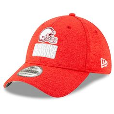 Men s Cleveland Browns New Era Heathered Red 2019 NFL Pro Bowl 39THIRTY  Flex Hat 5f5c3f45b