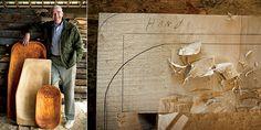 Artisan Wood Hog Bowls | Garden and Gun  Quinton Hughes - Hog Trays and Biscuit Bowls 843-558-5985
