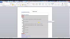 Tutoriel vidéo sur la création d'une table des matières automatique sous Word en utilisant les Styles et les options de mise en forme de la table des matières.  Pour lire ce tutoriel en version texte, rendez-vous sur Votre Assistante : http://www.votreassistante.net/creer-une-table-des-matieres-automatique-sous-word