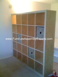 ikea Expedit bookcase assembled in Washington DC by Furniture Assembly Experts