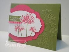 This layout might work nice with one of the floral stamp sets we got. Kind Banner