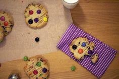 Smartie Cookies.