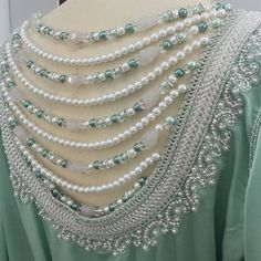 For a gorgeous special lady in Algeria #caftan#caftan2015#tiffany#silver#pearls#swarovski##luxury#luxurious#chic#bruiloft#marokkaans#henna#bride#bridalstyle#wedding#القفطان_المغربي#المغرب#قطر#عروس#beautyblogger#sunsetmalldubai#collection#photooftheday#fashionshoot#fashion#instafashion#runway