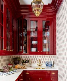 British Colonial Decor, Kitchen Cabinets, Kitchen Pantry, Kitchen And Bath, Kitchen Ideas, Butler Pantry, House On A Hill, French Country Style, House Made