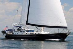 Ocean sailing yachts for sale 80 feet and larger. View sailing yacht listings and search. Sailing Yachts For Sale, Yacht For Sale, Used Boat For Sale, Boats For Sale, Ocean Sailing, Sailing Ships, Best Yachts, Float Your Boat, Automobile
