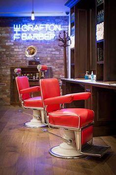 Ściana wykonana za pomocą historycznej cegły CLASSIC PREMIUM Coffee Restaurants, Barber Chair, Barber Shop, Retro, Classic, Design, Furniture, Dublin, Hairdresser
