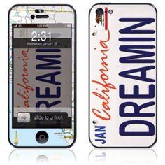 California Dreamin' Summer iPhone 5 Skin and Case