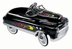 Cars on Comet Hot Rod Pedal Car W Flames For Kids 3 6 Years Old