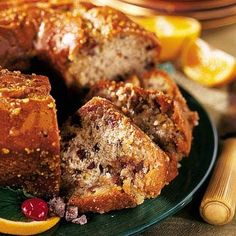 Orange date nut cake is the perfect holiday dessert. Citrus brings a brightness to the dessert, while the sugared dates add sweetness and pecans for crunch.