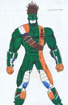 Spiderman, Irish, Superhero, Comics, Fictional Characters, Art, Spider Man, Art Background, Irish Language