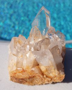 """Crystal Matrix (Item# CR-MFR009) $12.00USD This Crystal Cluster is apx: 1 1/2"""" x 1 3/4"""" x 1 1/4"""" and the weight is apx 2 3/8oz (68 grams).  #crystal #matrix #crystals #healing #arizona #queencreek #myfavoriterock"""