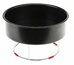 """Kuhn Rikon's *NEW* """"push pans"""" provide spring-form functionality WITHOUT the hinge!! GENIUS. I'm sure WilliamsSonoma will carry them :)"""