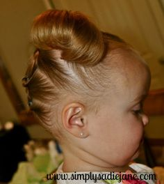 22 fun and creative TODDLER HAIRSTYLES!!  cant wait for M'enna to have more hair