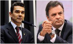 Comissão da Câmara solicita à PGR que apure denúncias contra Aécio  O presidente da Comissão de Direitos Humanos e Minorias da Câmara dos Deputados (CDHM), deputado Padre João (PT-MG), solicitou ao procurador-geral da República, Rodrigo Janot, que apure as denúncias contra o senador Aécio Neves que apontam desvio de dinheiro público oriundo da extração de nióbio, quando era governador de Minas; a denúncia foi realizada pelo jornalista Marco Aurélio Flores Carone no colegiado em novembro de…
